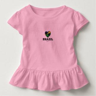 Brasilien-Fußball-Shirt 2016 Kleinkind T-shirt