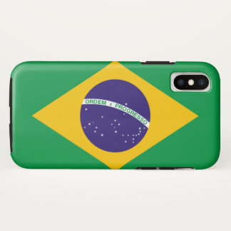Brasilien iPhone X Hülle