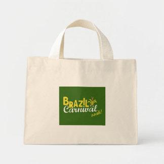 Brasilien-Karneval ooah! Einkauf Mini Stoffbeutel
