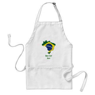Brasilien-Karte Schürzen