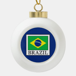 Brasilien Keramik Kugel-Ornament