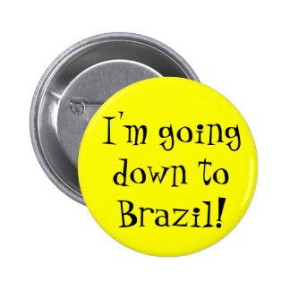Brasilien-Knopf Runder Button 5,1 Cm