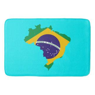Brasilien-Landesflagge Badematte