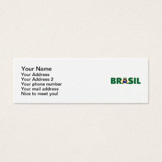 Brasilien Mini Visitenkarte