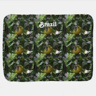 Brasilien-Pampelmuse Babydecke