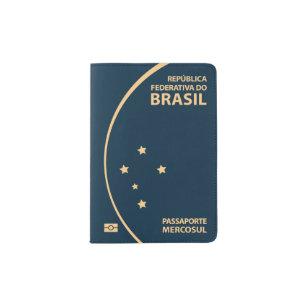 bac912220c589 Brasilien-Pass-Abdeckung Passhülle