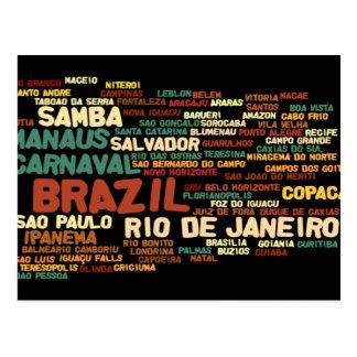 BRASILIEN-Postkarte