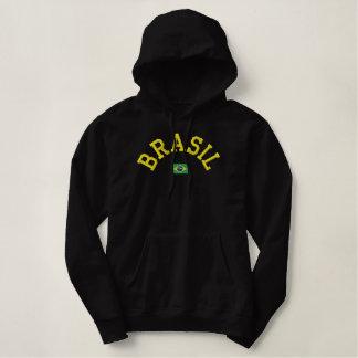 Brasilien-Pullover Hoodie - Força Brasilien!