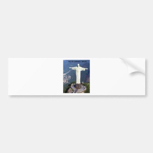 Brasilien Rio de Janeiro Jesus (neu) (St.K) Auto Sticker