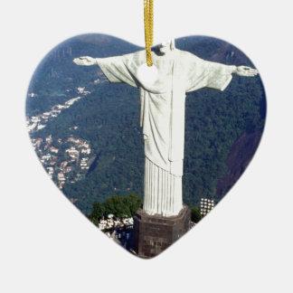 Brasilien Rio de Janeiro Jesus (neu) (St.K) Keramik Ornament