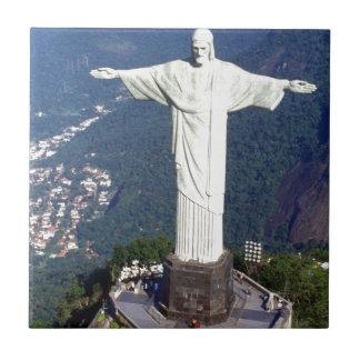 Brasilien Rio de Janeiro Jesus (neu) (St.K) Kleine Quadratische Fliese