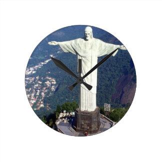 Brasilien Rio de Janeiro Jesus (neu) (St.K) Wanduhr
