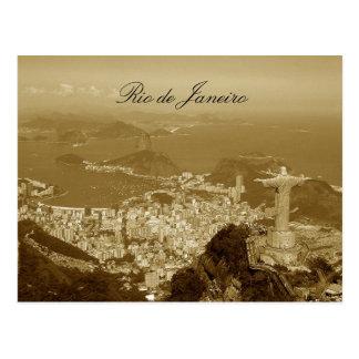 Brasilien, Rio de Janeiro Postkarte