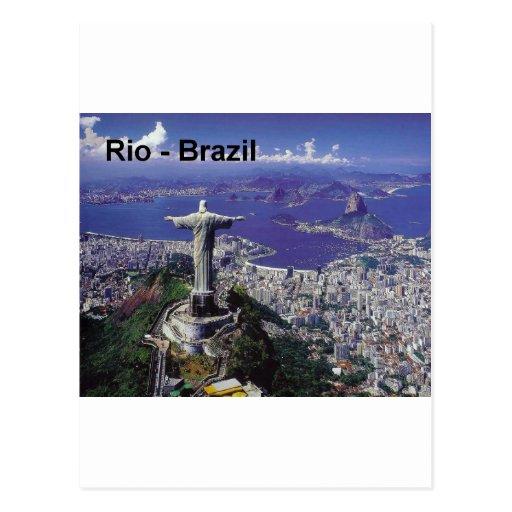 Brasilien Rio de Janeiro (St.K.) Postkarte