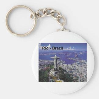 Brasilien Rio de Janeiro (St.K.) Standard Runder Schlüsselanhänger