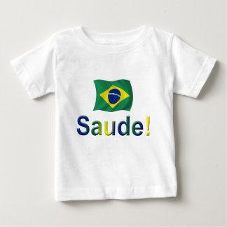 Brasilien Saude! Baby T-shirt