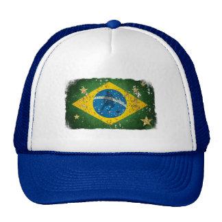 Brasilien-Schmutzflagge für Brasilianer weltweit Retrokultkappe