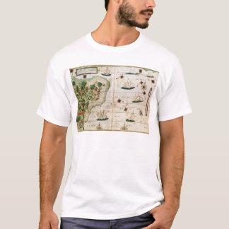 """Brasilien vom """"Miller-Atlas"""" durch Pedro Reinel T-Shirt"""