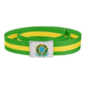 Brasilien-Wappen Gürtel