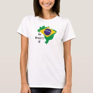 Brasilien-Weltmeisterschaft T-Shirt