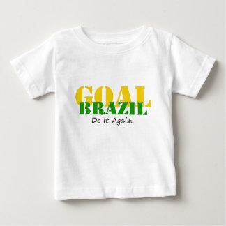Brasilien - wiederholen Sie es Baby T-shirt