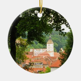 Brasov, Rumänien Keramik Ornament