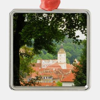 Brasov, Rumänien Silbernes Ornament