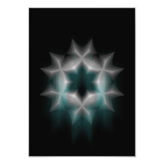Bratenfett-Schneeflocke - Fotodruck