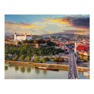 Bratislava, Slowakei Postkarte