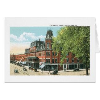 Brattleboro, Vermont, Bach-Haus Karte