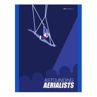 Brattleboro Zirkus-Künste - erstaunliche Postkarte