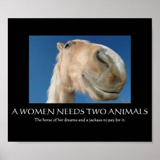Braucht Frauen Poster