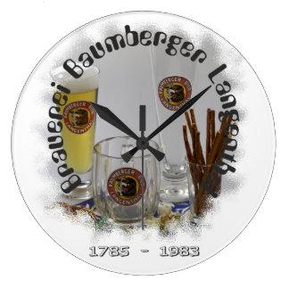 Brauerei Baumberger Langenthal Große Wanduhr