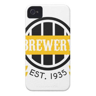 Brauerei-Logo-Entwurfs-Schablone iPhone 4 Hüllen