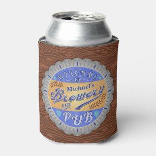 Brauereipub-personalisierte Bierflasche-Kappe Dosenkühler