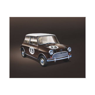 Braun Mini Coopers S Leinwanddrucke