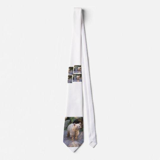 Braunbär Bedruckte Krawatte