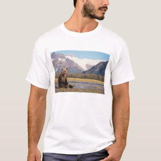 Braunbär, Ursus arctos, Grizzlybär, Ursus 5 T-Shirt