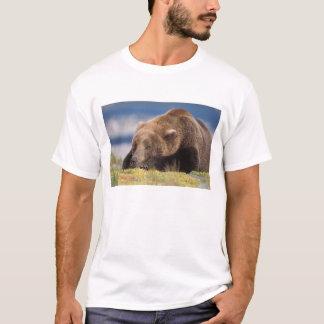 Braunbär, Ursus arctos, Grizzlybär, Ursus 8 T-Shirt