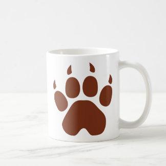 braune Auflageikone Kaffeetasse