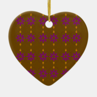 Braune Völker der Entwurfselemente Keramik Ornament