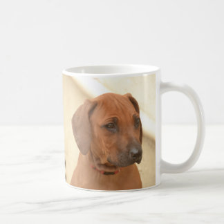 Brauner Rhodesian-Ridgeback Profil Kaffeetasse