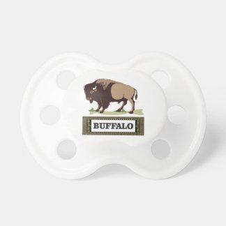 brauner Umbau des Büffels Schnuller
