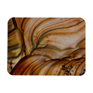 Braunfarbiger Deschutes Jaspis Magnet
