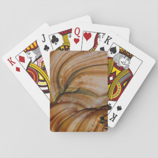 Braunfarbiger Deschutes Jaspis Spielkarten