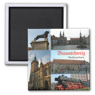 Braunschweig Quadratischer Magnet