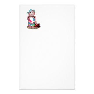 Bräunte Robo-x9 (auf freiem Raum) Individuelles Büropapier