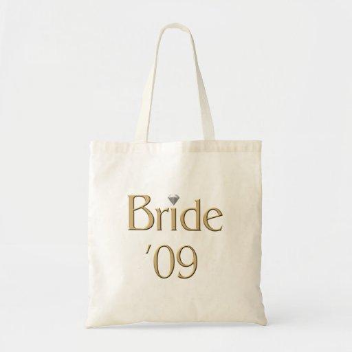 Braut '09 leinentaschen