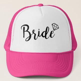 Braut Bling Diamant Truckerkappe