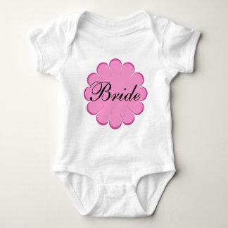 Braut-Blumenentwurf! Baby Strampler